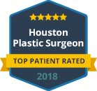 2018 Top Patient Rated Houston Facial Plastic Surgeon